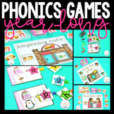 Phonics Games for the Year Growing Bundle