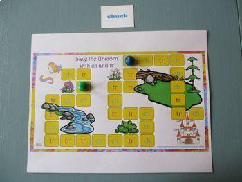 Phonemic Awareness 4 Board Games Bundle