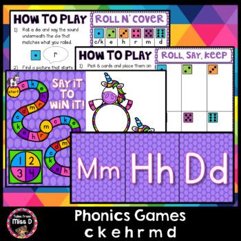 Phonics Games CKEHRMD