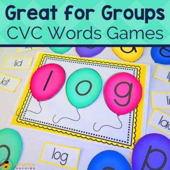 Phonics Games – CVC Words