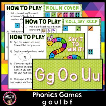 Phonics Games GOULBF