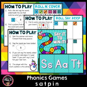 Phonics Games SATPIN