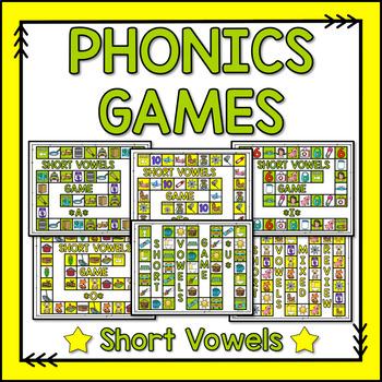 Phonics Games {Short Vowels}