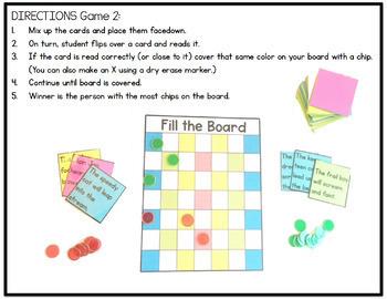 Phonics Games: Vowel Teams