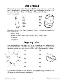 Phonics Games and Activities