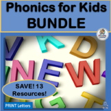 Phonics Games and Activities for Kids BUNDLE aligns with J