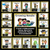Phonics Games and Word Sorts Growing Bundle