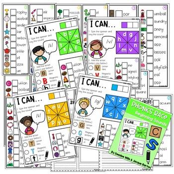 Phonics Race Games for Kindergarten