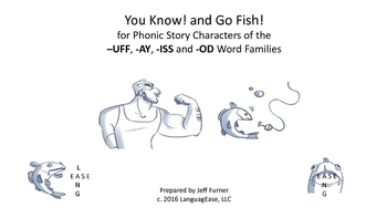 Phonics Games for Story Characters of the  –UFF, -AY, -ISS