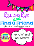 Phonics Games for ew, ue, and ui