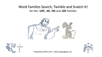 Phonics Games for the –UFF, -AY, -ISS and -OD Families