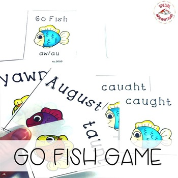 Phonics Go Fish! AW/AU