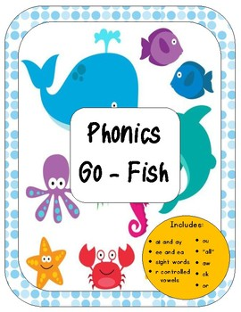 Phonics Go Fish Game *Bundle*