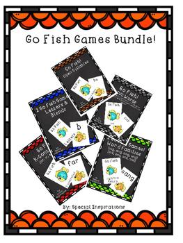 Phonics Go Fish Games Bundle!