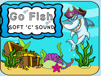 Phonics Go Fish 'Soft C' Words