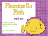 Phonics Go Fish - au & aw words