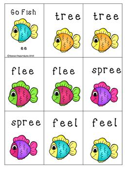Phonics Go Fish (ee)