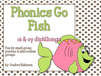 Phonics Go Fish - oi & oy diphthongs