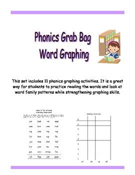 Phonics Grab Bag Word Graphing