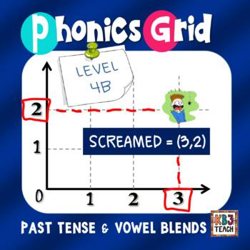 Phonics Grid (Ordered Pairs, Past Tense Verbs, Vowel Combi