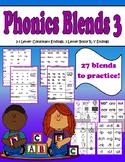 Phonics Group 3- Consonant Endings, 3 Letter Bossy R, Y Endings