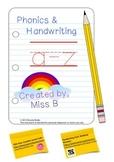 Phonics & Handwriting Book