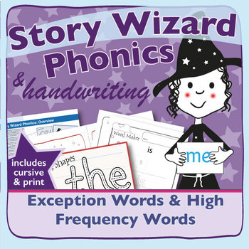 Phonics & Handwriting: Exception Words & High Frequency Words