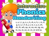 Letter Formation Animated Powerpoint and Worksheets | PHONICS