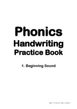 Phonics Handwriting Practice Book-Beginning Sound