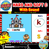 Phonics Hard and Soft C BOOM™ Cards with SOUND