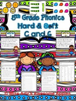 Phonics - Hard and Soft C and G