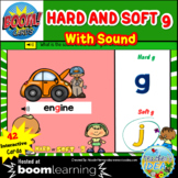 Phonics Hard and Soft g BOOM™ Cards with SOUND