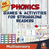 Phonics Games and Activities Bundle