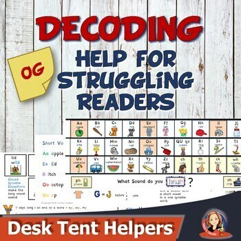 Phonics Helpers for Decoding and Spelling