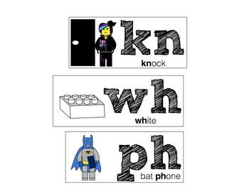 Phonics Hunks and Chunks: Building Block Theme