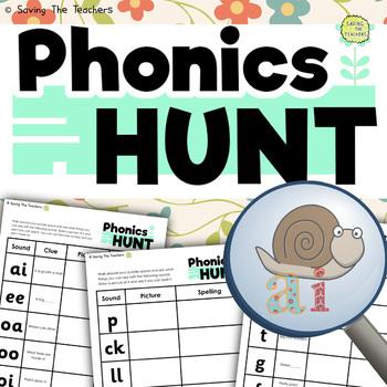 Phonics Hunt Outdoor Activity