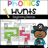 Phonics Hunts: Beginning Blends