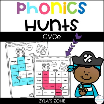 Phonics Hunts: CVCe Magic E