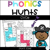 Phonics Hunts: CVCe Magic E