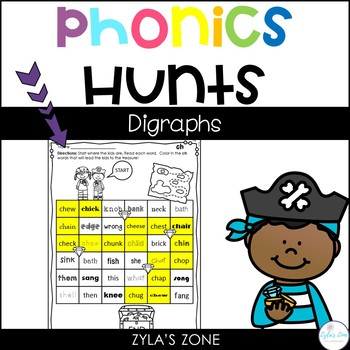 Phonics Hunts: Digraphs