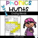 Phonics Hunts: Ending Blends
