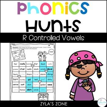Phonics Hunts: R Controlled Vowels