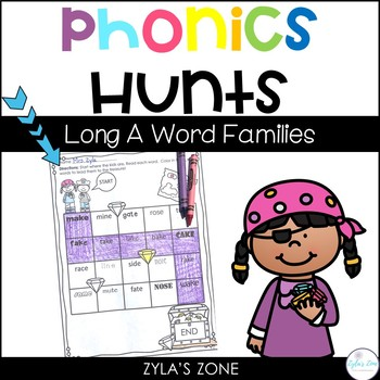 Phonics Hunts: Short A Word Families