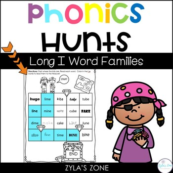 Phonics Hunts: Short  I Word Families