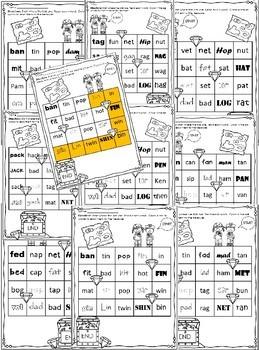 Phonics Hunts Bundle: Short Vowel Word Families