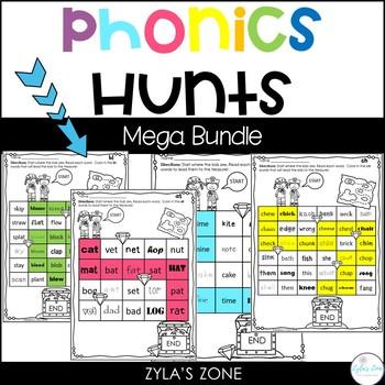 Phonics Hunts: The Bundle