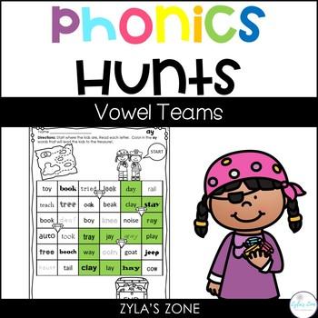Phonics Hunts : Vowel Teams