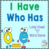 "Phonics: I Have Who Has: Focus ""o_e"" Long Vowel Word Games"
