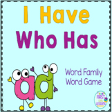 "Phonics: I Have Who Has: Focus ""ad"" Word Family Game"