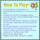 """Phonics: I Have Who Has: Focus """"ad"""" Word Family Game"""
